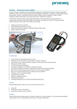 Zonotip+ Ultrazvučni merač debljine