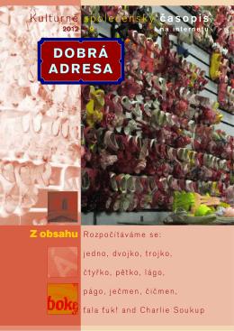 DA 09/2012 - Dobrá adresa