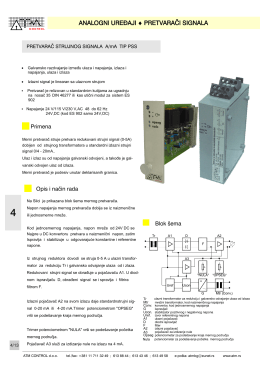 5.6 Pretvarac signala PSS-str.4