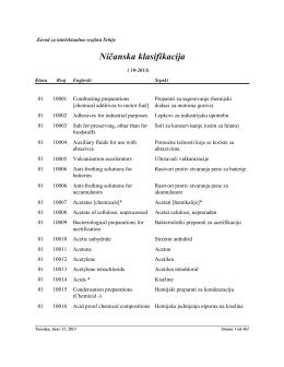 Ni~anska klasifikacija