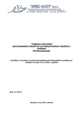 """""""pobeda-holding"""" akcionarsko društvo za proizvodnju mašina i"""