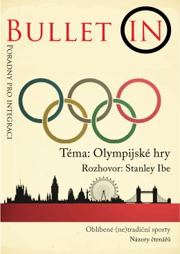 Téma: Olympijské hry - Poradna pro integraci