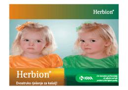 Herbion sirup od trputca