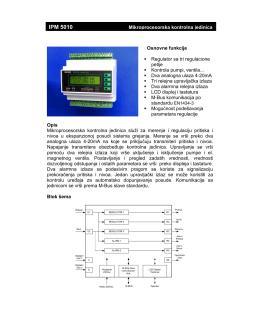 IPM 5010 - prospekt