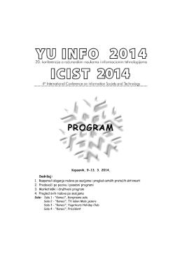 program - yuinfo 2014