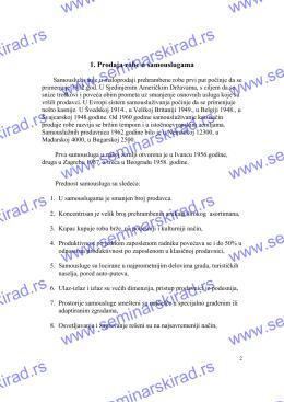 3288-Ekonomija-Prodaja robe u samouslugama