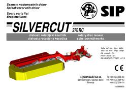 Silvercut 270 RC