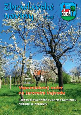 Zbraslavské noviny 5/2013