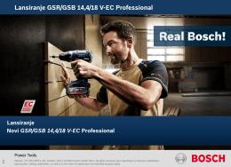 GSR/GSB 14,4/18 V-EC