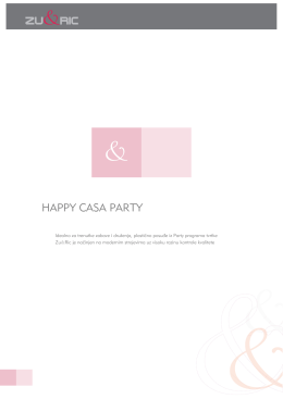 HAPPY CASA PARTY