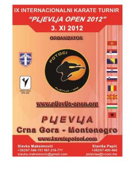 pljevlja open 2012