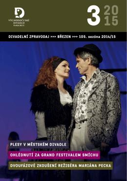 zPRAVoDAJ březen 2015 - Východočeské divadlo Pardubice