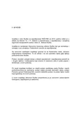 I-UVOD - Služba za zapošljavanje HNŽ/K