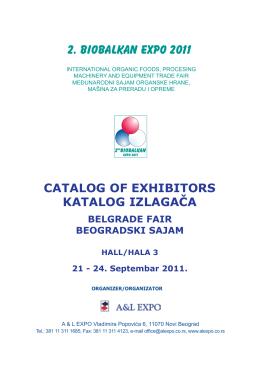 2. BIOBALKAN EXPO 2011
