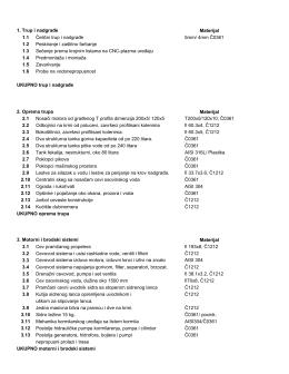 Eden 960 - Specifikacija
