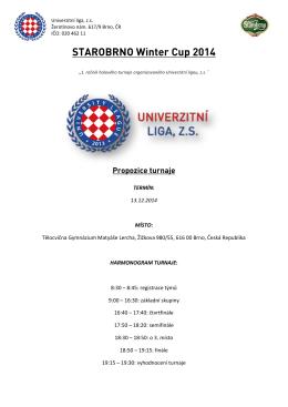 Propozice SWC 14 - Univerzitní liga