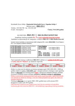 saopstenje s saradnika RKS ZS 1 br 5