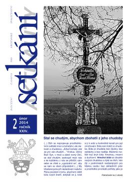 etkání 02/2014 - Biskupství českobudějovické