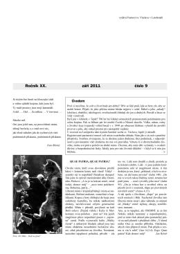 Okénko do farnosti 9/2011 (formát pdf) - Farnost Letohrad