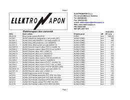Elektronapon cenovnik u pdf formatu