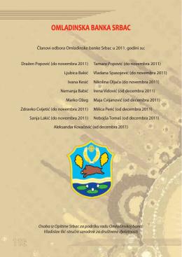 OMLADINSKA BANKA SRBAC