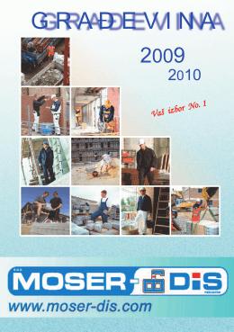 Otvorite tehničku dokumentaciju - Moser-DIS