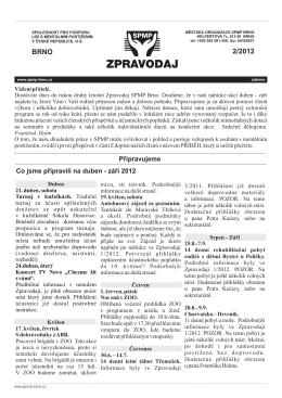 Zpravodaj 2/2012