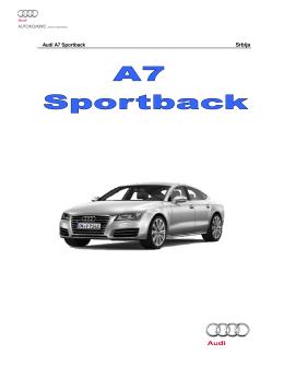 Audi A7 - Autokomerc