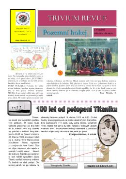 TR duben-květen 2012 - Základní škola Trivium Plus Dobřany