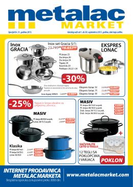 -25% -30% - Metalac Market