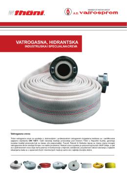 Vatrogasna, hidrantska, industrijska i specijalna creva