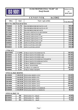 ELID cenovnik u pdf formatu
