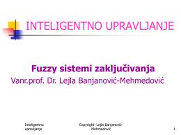 y - Vanr.prof.dr. Lejla Banjanović