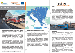 Rail Hub Cities for South East Europe