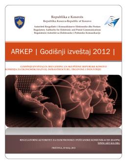 ARKEP | Godišnji izveštaj 2012 |