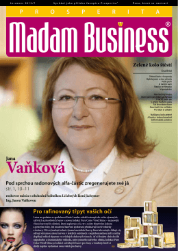 Červenec - Prosperita Madam Business