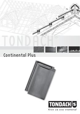 Izvođački detalji Continental plus (100%)