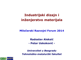 Radoslav Aleksic, Petar Uskokovic ppt