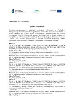 otwórz - Samodzielny Publiczny Zespół Opieki Zdrowotnej w Leżajsku