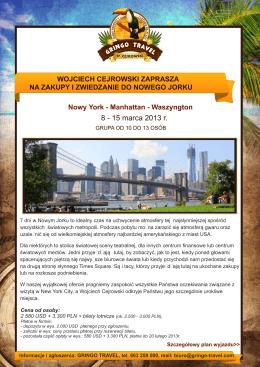 NYC_zakupy_3 strony - Wojciech Cejrowski