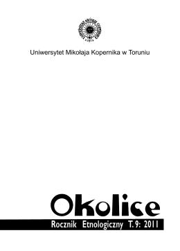 Pobierz PDF - Katedra Etnologii i Antropologii Kulturowej UMK w