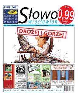 we współpracy z - Słowo Wrocławian