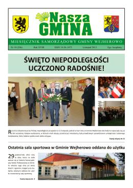 Nasza Gmina Listopad 2013