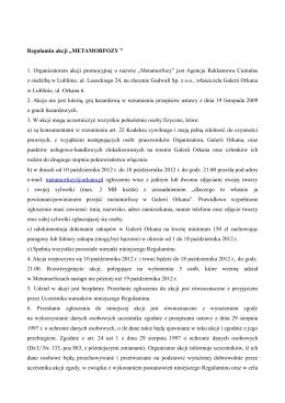 regulamin Metamorfozy-1