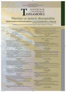 Wartości w świecie słowiańskim