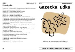 Pobierz teraz! - Miejskie Gimnazjum im. Stanisława Dulewicza w