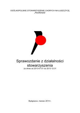 Sprawozdanie - luszczyca.org.pl
