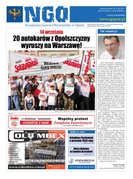 NGO Wydanie Specjalne Nr. 8 - Niezależna Gazeta Obywatelska w