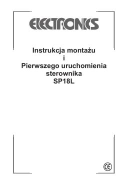 Instrukcja monta¿u i Pierwszego uruchomienia sterownika SP18L