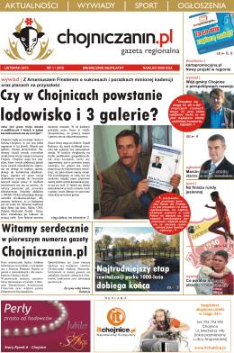 Numer 1/2010 - Chojniczanin.pl